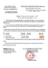 Visa Approval Letter Information Format Vietnam Visa On Arrival