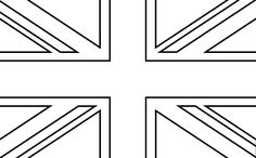 Kleurplaten Engelse Vlag