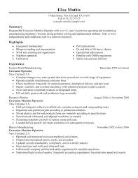 Resume Templates For Manufacturing Jobs Best of Resume Samples For Manufacturing Jobs Extrusion Operator Resume