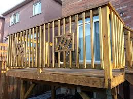 typical deck railing height