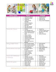 Chore Chart Archives Integrated Learning Strategies