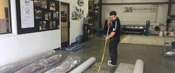 rug cleaning procedure