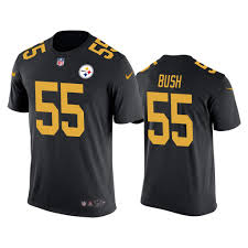 Color Steelers Rush Devin Men's Black Bush 55 Pittsburgh T-shirt cceedf|Patriots Vs Bills Game Preview