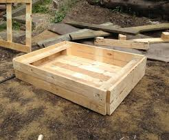 pallets furniture. Home Made Hen Dust Bath From Pallets Pallets Furniture