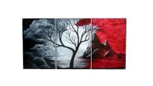 modern wall art red black white oil painting on red black white wall art with modern wall art red black white oil painting 3d warehouse