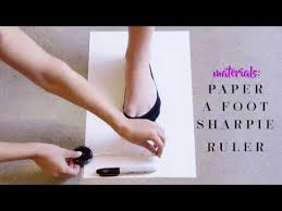 Justfab Size Chart Justfab Presents How To Measure Your Shoe Size Youtube