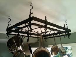 wide pot rack chandelier pot rack chandelier custom made forged pot rack wrought iron pot rack chandelier