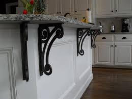 amazing decorative metal brackets for countertops with custom metal work alabama metal art