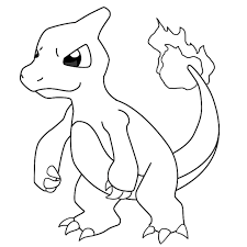 Charmander Coloring Pages Coloring Charmander Coloring Pages ...
