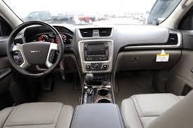 gmc acadia 2014 interior. white 2014 gmc acadia denali interior dashboard gmc