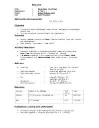 J2Ee Fresher Resume Alluring Java Fresher Resume Template Regarding ...