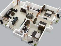 3 bedroom home design plans extraordinary decor bedroom house