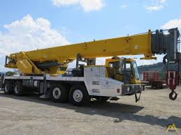 Grove Tms700e 60 Ton Telescopic Boom Hydraulic Truck Crane For Sale