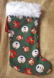 Handmade Christmas Stockings Xmas Stocking Christmas Stocking With Funny Reindeer Fireplace
