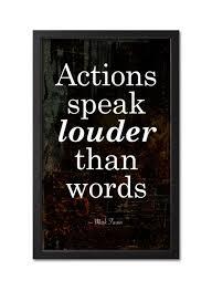 best actions speak louder than words images   actions speak louder than words quotes by mark twain black white