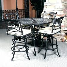 pub height patio table bar height outdoor table set counter height patio table image of bar