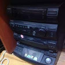 Sony Sony XB8AV müzik seti kasası!!! Ses çıkışı arızalı