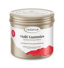 Radiance™ Adult Gummies <b>Multi</b>-<b>Vitamin</b>: <b>Sugar Free</b>, Berry Flavour