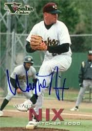 Wayne Nix autographed Baseball Card (Minor League) 2000 Grandstand ...