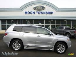 2010 Toyota Highlander Hybrid Limited 4WD in Classic Silver ...