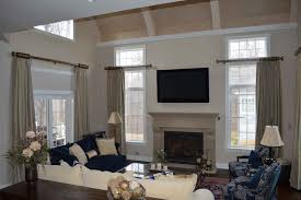 Window Treatment For Large Living Room Window Window Treatments Custom Window Treatments Spacious And Large