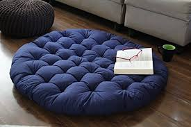 India Papasan Chair Cushion Round Lounge Pillow Seat