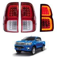 Revo Led Lights Amazon Com Car Styling Tail Lamp For Toyota Hilux Revo Tail