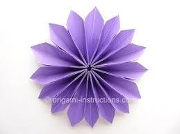 Folding Paper Flower Fold Flowers Ideal Vistalist Co