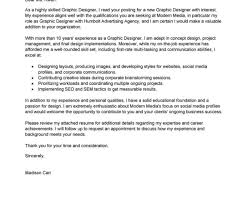 How To Write A Cover Letter For Graphic Design Graphic Design