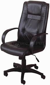 appealing modern leather office chair with contemporary leather high office chair black