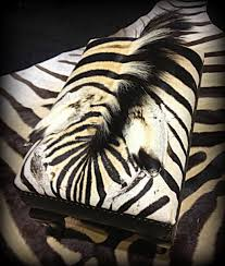 Zebra Living Room Furniture Large Square Zebra Ottoman For Living Room Table Ideas
