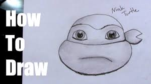 Small Picture How To Draw a Ninja Turtle Head Easy YouTube