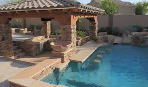 pool designs with bar. Exellent With Swim Up Bars Swimming Pool Bars  Phoenix Landscaping Design U0026  Builders Remodeling To Designs With Bar M