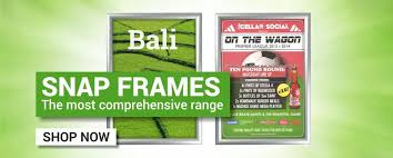 sign holders poster frames signage systems by green magic sign holders co uk