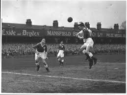 """Chesterfield FC FPA on Twitter: """"Sunday Snap: Stan Milburn #378 born today  in 1926, here clearing for @ChesterfieldFC v @swfc New Years Eve 1949 as Ken  Booker #363 looks on.… https://t.co/EBbApIkeOF"""""""