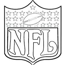 nfl coloring book color pages free library and trivia awesome nfl coloring books