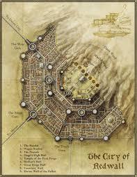 Dungeon Design Tips More City Design Tips City Landscape Fantasy City Map