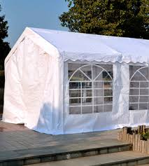 review of outsunny 01 0805 garden gazebo marquee party tent wedding portable garage carport shelter