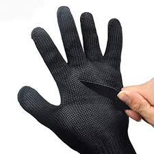 XDeer <b>Cut</b> Resistant Gloves Stainless Steel Wire Mesh <b>Level 5</b> ...