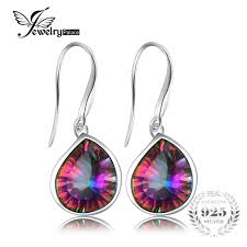 JewelryPalace 6ct Genuine <b>Natural Rainbow Fire Mystic</b> Topaz ...
