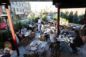 On nicer days, it's a perfect spot to park your stroller and enjoy the outdoor seating. An Outdoor Dining Guide To Philly S Patios Courtyards And Rooftops