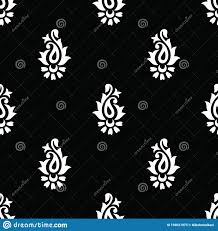 Small Buti Design Seamless Small Indian Paisley Pattern Stock Vector