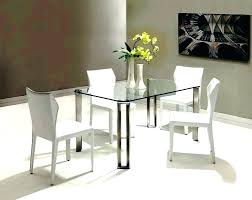 glass dining table and chairs glass dining table set 4 chairs small round glass dining tables