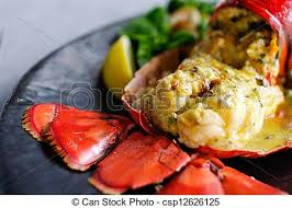 gourmet lobster dinner.  Lobster Gourmet Lobster Dinner At The Restaurant  Csp12626125 Inside Lobster Dinner T