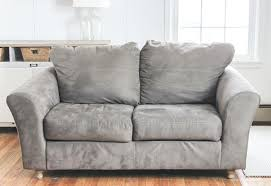 sofa slip covers are your sofa cushions attached to the frame see how this blogger detached and separated sofa slip covers canada
