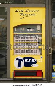 Vending Machine Italy Extraordinary 48hour Cigarette Vending Machine Turin Italy Stock Photo