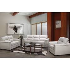 new design living room furniture. Simple Living AClass LeathAir 3 Piece Living Room Set In Grey  With New Design Living Room Furniture