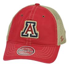 Zhats Size Chart Details About Ncaa Zephyr Arizona Wildcats Red Beige Mesh Relaxed Hat Cap Curved Bill Snapback