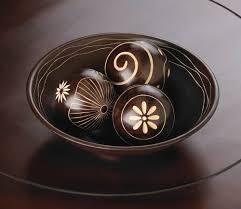 Small Decorative Balls Umber Decorative Balls Set Wholesale at Koehler Home Decor 2
