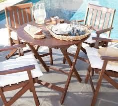 mahogany folding bistro table honey